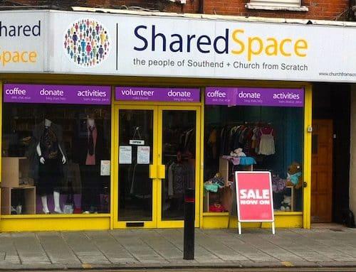Shared Space shopfront in 2010