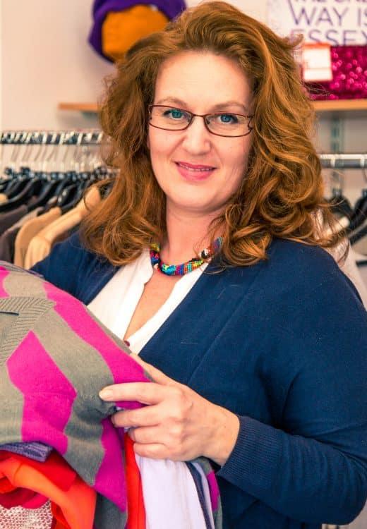 Edina – shop floor volunteer
