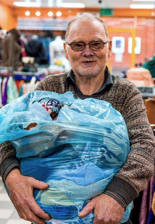 John – shop floor volunteer