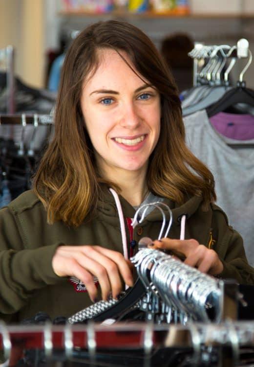 Katie – shop floor volunteer