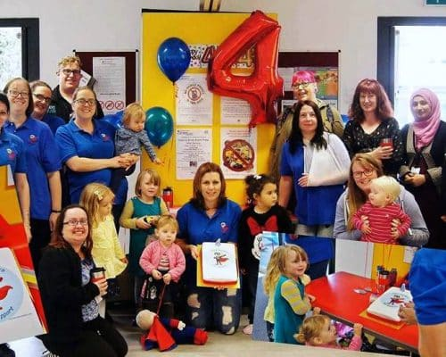 Group at Little Heroes ASD Support