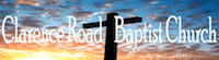 Clarence Road Baptist Church logo
