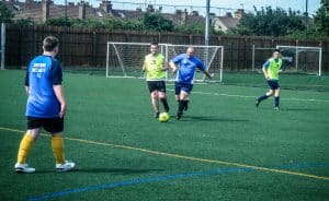 Southend Sociability football club training