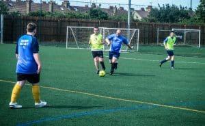 Southend Sociability football club training