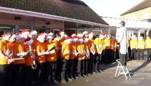 Shoeburyness VoiceMale Choir outdoors
