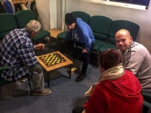 Winter night shelter at Belle Vue Baptist Church