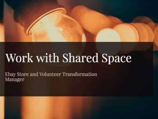 Work with Shared Space