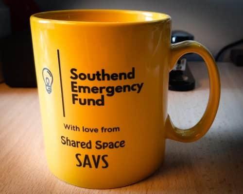 Southend Emergency Fund mug