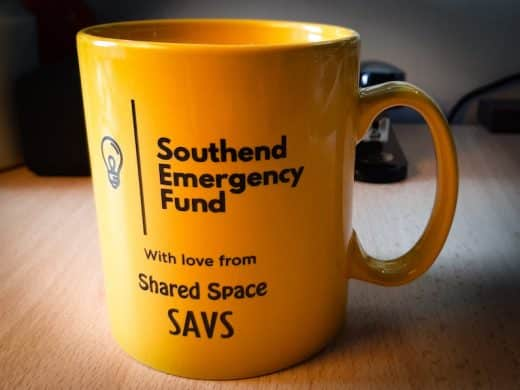 Southend Emergency Fund mug