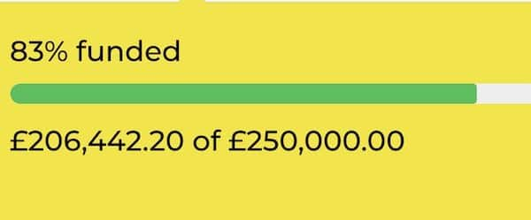 Southend Emergency Fund totaliser