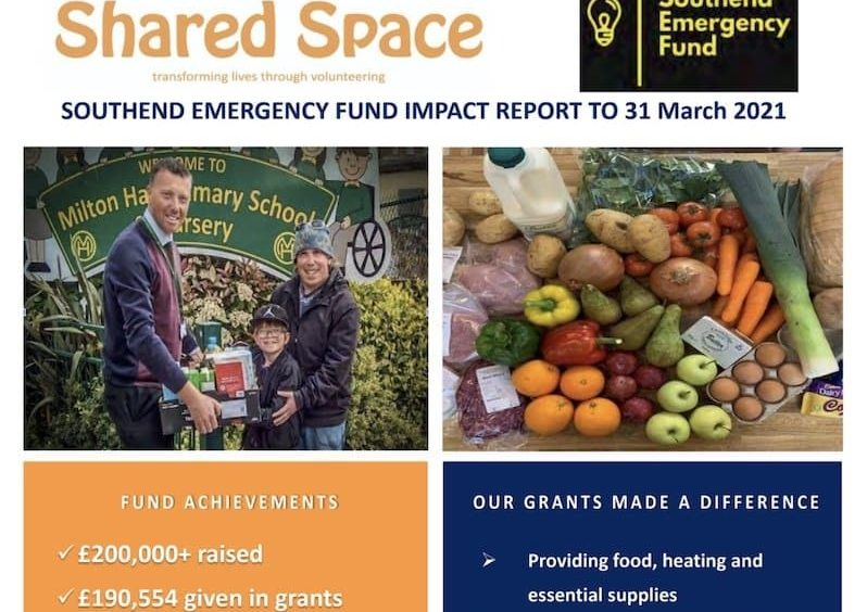 Southend Emergency Fund Impact Report front cover